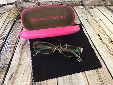 Juicy Couture  Women's Prescription Glasses Eyeglasses Frame and box 135