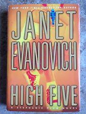 Janet Evanovich HIGH FIVE HC/dj Stephanie Plum L@@K WOW!!!