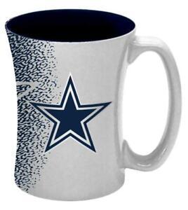 Dallas Cowboys 14oz Mocha Design Coffee Mug [NEW] NFL Tea Cup Glass Travel