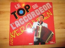 disque vinyle 33 tours double album le top de l'accordeon andre verchuren