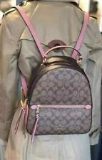 Coach Jordyn Backpack in Blocked Signature Canvas F76715