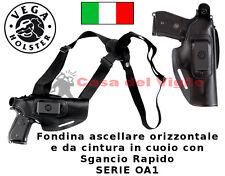 Fondina Vega Holster in cuoio ascellare OA110 per Beretta 92 98 serie OA1