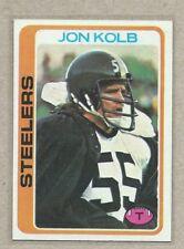 1978 Topps Jon Kolb Pittsburgh Steelers  #84 Oklahoma State