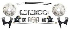 "GM & Chevy 10 / 12 Bolt High Performance 11"" Rear Disc Brake Conversion Kit, BLK"