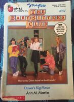 The Baby-Sitters Club: Dawn's Big Move #67 by Ann M. Martin Paperback Ex-library