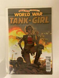 World War Tank Girl #3 Cover C NM Titan Comics