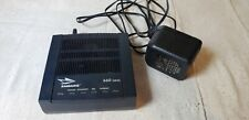 Embarq ADSL Modem Router with AC Power Supply Adapter 660 Series EQ-660R Black