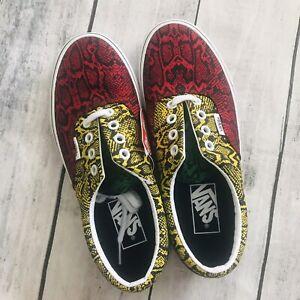 New Vans women's Era Multi Python sneakers