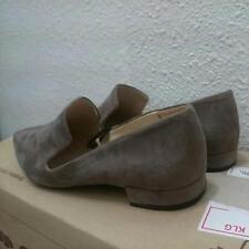 Zara Grey Metal Toe Flats EU39