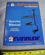 Johnson Evinrude Boat 'ER' Electric Trolling Motor Repair Service Manual, 500605