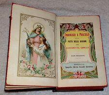 Indirizzo e Pascolo per Elisabetta Girelli  Brescia 1909