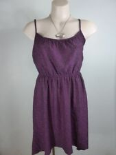 $9.95 DRESS SALE!! cute black purple Cotton On Sundress sz 8 S