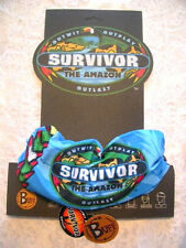 SURVIVOR BUFFS: Amazon Blue Tambaqui Buff - New on Original Display