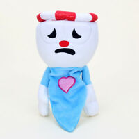 28cm Chalice Cuphead & Plush Toy Mecup And Brocup Stuffed Doll Toys Gift