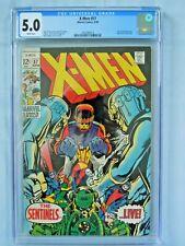 Marvel X-Men #57 CGC 5.0 1969 Sentinels appearance Marvel Girls featurette