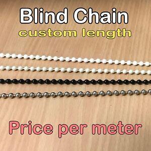BULK BUY - Roller Holland Vertical Roman Blind Control Chain Repair Cord Metal