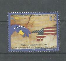 KOSOVO 149 2009  Kosovo's friendship with USA set  MNH