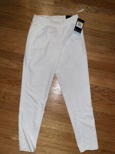 NWT $85 Women's Nike Flex UV Victory 3/4 Golf Pants BV0178-100 Size Small