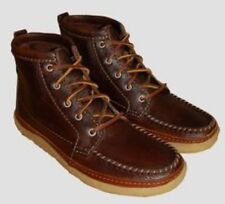 NEW CLARKS ORIGINALS VULCO SPEAR BROWN TUMB LEATHER BOOTS SIZE UK 8 US 9 EUR 42