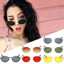 Round Lens Sunglasses Mens Womens Ladies John Lennon Fashion Oval Hippie Glass