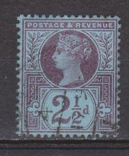 Great Britain nr 89 used Victoria 1887 VEILING oude POSTZEGELS ENGELAND