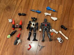 """Vintage Micronauts 7"""" Magnetic Figure Parts & Accessories"""