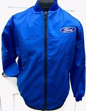 """Classic Fully-Lined Ford Badge Bomber Rally BTCC Motorsport Jacket 44"""" Chest"""