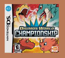 Digimon World Championship DS DS Lite DSi DSiXL 3DS