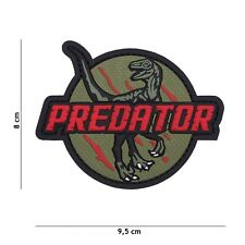 Predator rot #1099 Patch Klett Abzeichen Airsoft Paintball Softair