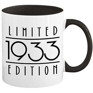 88th Birthday Mug Coffee Cup 1933 Funny Gift For Women Men Her Him H-67U
