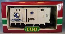 LGB Lehmann Spur G 4131 Kühlwagen Löwenbräu Getränkedienst in O-Box #3597