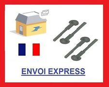 4 clefs d'extraction de démontage facade autoradio CITROEN FIAT HONDA PEUGEOT
