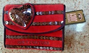 NWT JUICY COUTURE ENVELOPE STYLE WALLET OXBLOOD MSRP 68.00