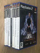 Lotto stock dvd ps2 7 giochi tomb Raider Italiano PAL Come Nuovi