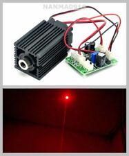 635nm 638nm 300mW Orange Red Dot Laser Diode Module w 12V Driver & Cooling Fan