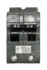 40 Amp Circuit Breaker, Federal Pacific UBIF-0240N Thick, 2-Pole