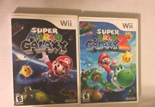 Super Mario Galaxy 1 And 2 Game Lot! Both Galaxy Games!!
