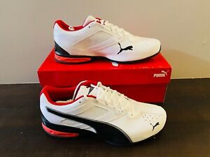 Puma Tazon 6 FM Size 12 White-Black-Puma Silver FREE SHIPPING NEW IN BOX