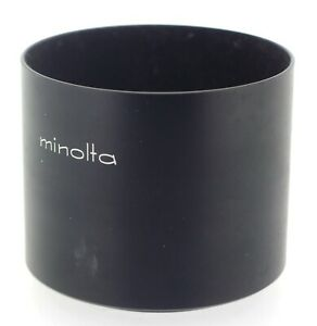 Minolta Original D52NB 52mm Metal Lens Hood for Zoom-Rokkor 100-200mm f/5.6