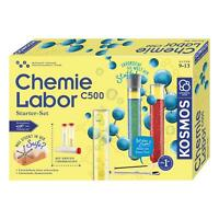 KOSMOS Chemielabor C500 Starterset Experimentierkasten Chemie Labor ab 9 Jahren