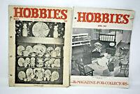 Hobbies The Magazine For Collectors April-March 1947 Vintage Print Ads