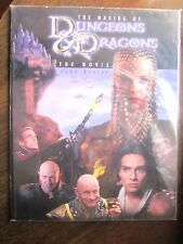 The Making of Dungeons & Dragons: The Movie by John Baxter (Art Book) New