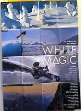 WHITE MAGIC (A0-Kinoplakat / Filmplakat '94) - WILLI BOGNER / SCHNEE / SKI