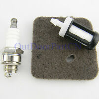 Air Fuel Filter Spark Plug For Stihl FS38 FS45 FS46 FS55 HS45 FC55 KM55 Trimmer