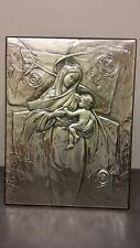 Quadro bassorilievo Madonna con Bambino STILARTE SE1276/1 in argento