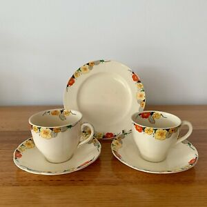 Vintage Alfred Meakin Royal Marigold Tea and Coffee Set Made in England