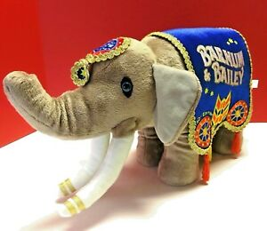 Ringling Bros Barnum Bailey Circus 140th Edition Elephant Plush Greatest Show