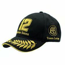 Lotus Ayrton Senna F1 Cap Official Formula 1 Hat Adult Black