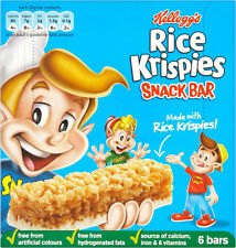 Kelloggs Rice Krispies Snack Müsli Barren 3 X 6er Pack