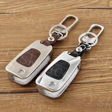 Metal Keyfob Key Holder Shell Case Bag Cover For Hyundai I20 I30 IX35 3 Buttons